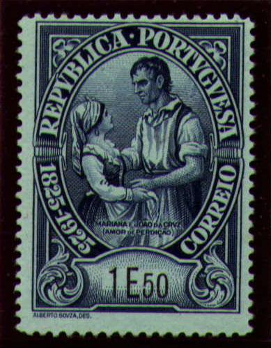 Portugal 1925 Birth Centenary of Camilo Castelo Branco w.jpg