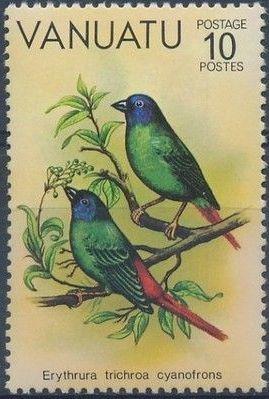 Vanuatu 1981 Birds