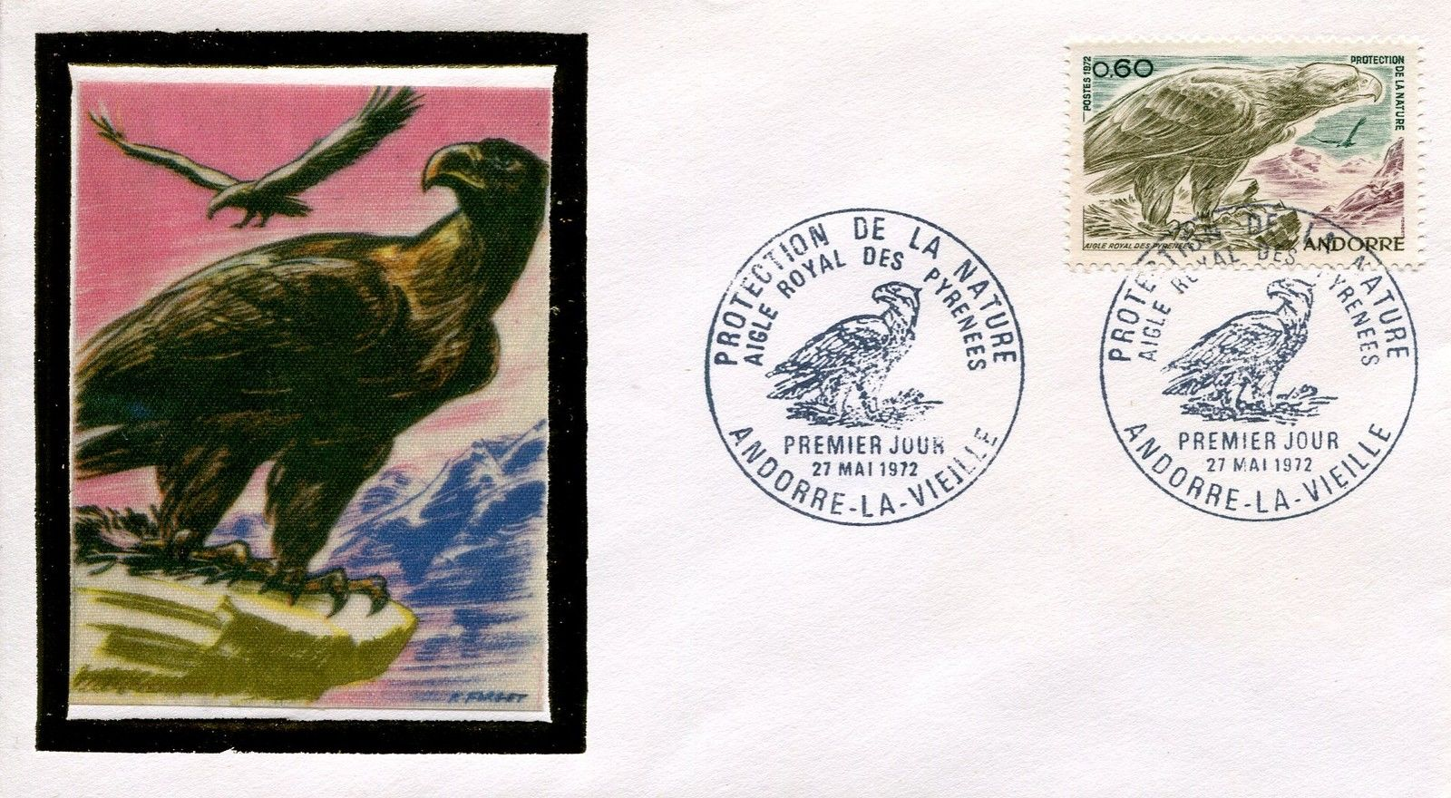 Andorra-French 1972 Nature Protection FDCa.jpg