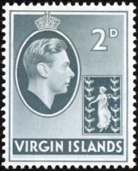 British Virgin Islands 1938 George VI and Seal of the Colony d.png
