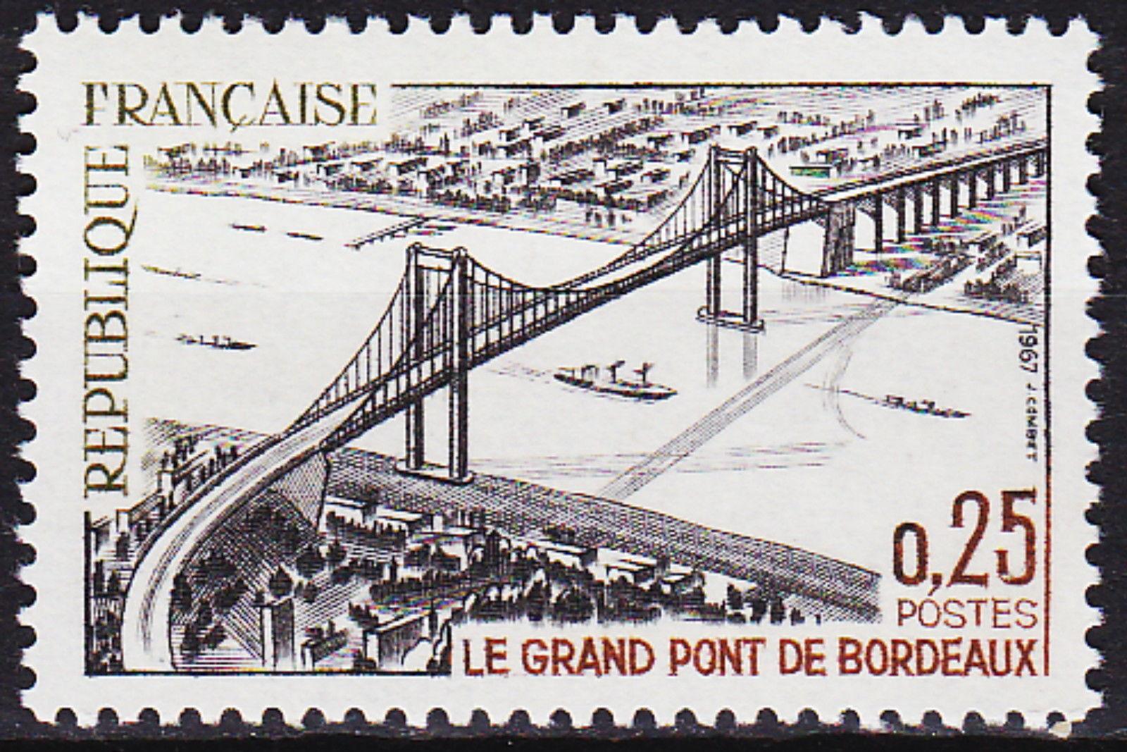 France 1967 Great Bridge Bordeaux