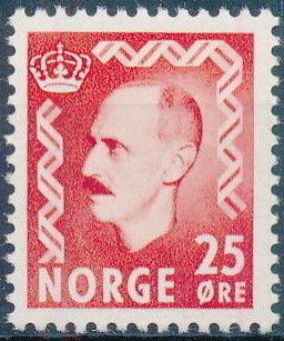 Norway 1950 King Haakon VII
