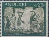 Andorra-French 1968 Frescoes