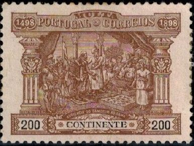Portugal 1898 400th Anniversary of Discovering the Seaway to India (Postage Due Stamps) f.jpg