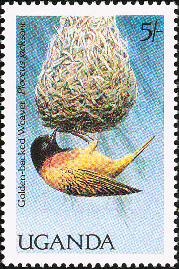 Uganda 1987 Birds of Uganda