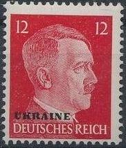 German Occupation-Ukraine 1941 Stamps of German Reich Overprinted in Black h.jpg