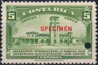 Costa Rica 1940 Opening of the International Airport at La Sabana