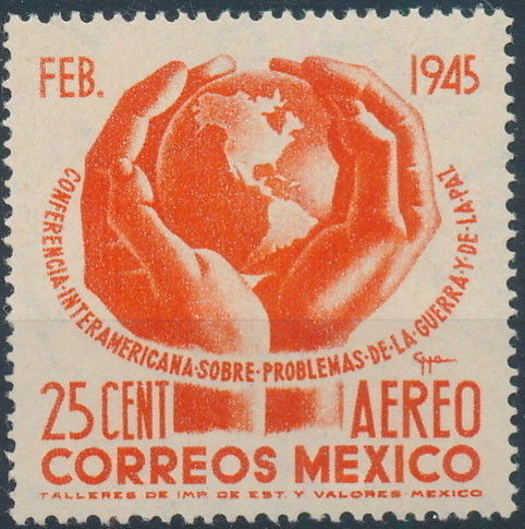 Mexico 1945 Inter-American Conference (Airmail)