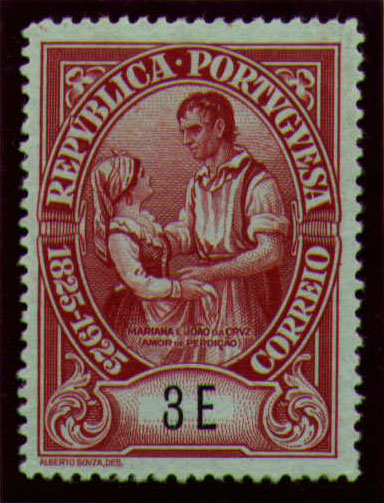 Portugal 1925 Birth Centenary of Camilo Castelo Branco aa.jpg