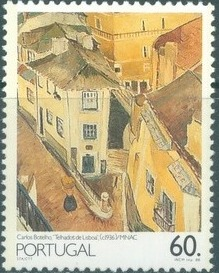 Portugal 1988 Portuguese Paintings of the 20th Century (2nd Group) b.jpg