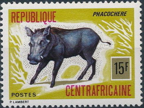 Central African Republic 1975 Wild Animals b.jpg