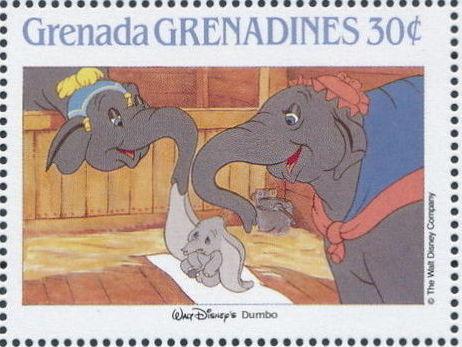 Grenada Grenadines 1988 The Disney Animal Stories in Postage Stamps 4b.jpg