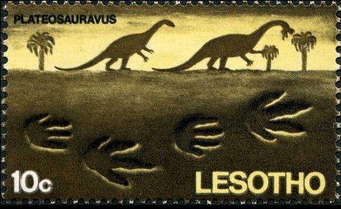 Lesotho 1970 Dinosaurs Footprints d.jpg
