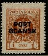 Poland 1925 Polish Offices Abroad - Danzig