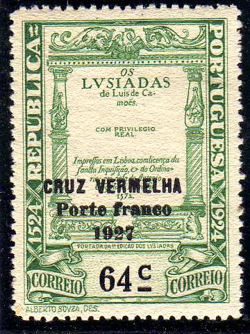 Portugal 1927 Red Cross - 400th Birth Anniversary of Camões c.jpg