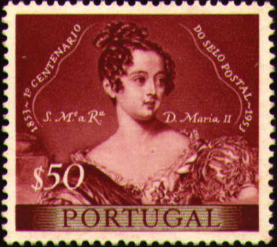 Portugal 1953 Centenary of Portugal's First Postage Stamp