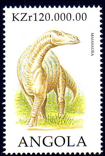 Angola 1998 Prehistoric Animals (1st Group)