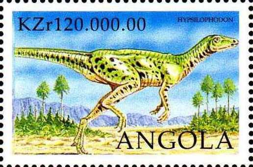 Angola 1998 Prehistoric Animals (3rd Group) c.jpg