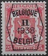 Belgium 1938 Coat of Arms - Precancel (2nd Group) c.jpg
