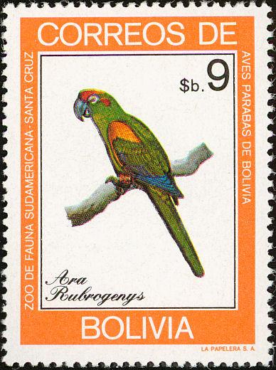 Bolivia 1981 Macaws d.jpg