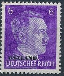 German Occupation-Russia Ostland 1941 Stamps of German Reich Overprinted in Black e.jpg