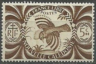 New Caledonia 1942 Kagu