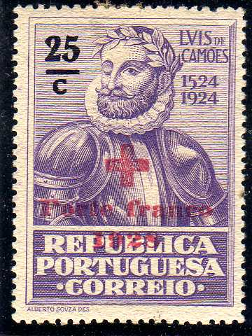 Portugal 1928 Red Cross - 400th Birth Anniversary of Camões c.jpg