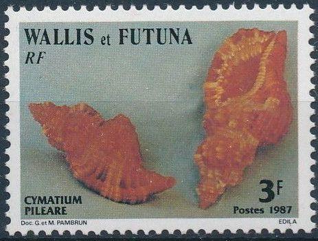 Wallis and Futuna 1987 Sea Shells