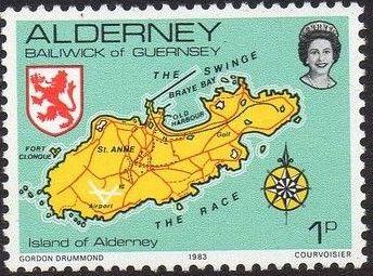 Alderney 1983 Island Scenes