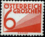 Austria 1925 Postage Due Stamps (Digit and Triangles) 1st Issue e.jpg