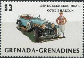 Grenada Grenadines 1983 The 75th Anniversary of Ford T i.jpg