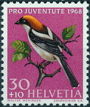 Switzerland 1968 PRO JUVENTUTE - Birds c.jpg