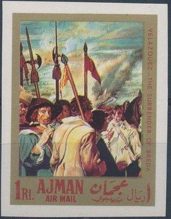 Ajman 1968 Paintings by Diego Rodriguez de Silva y Velazquez e.jpg