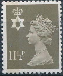 Great Britain - Northern Ireland 1981 Machins