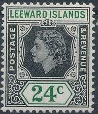 Leeward Islands 1954 Queen Elizabeth II j.jpg