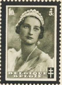 Belgium 1935 Queen Astrid Memorial Issue a.jpg