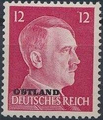 German Occupation-Russia Ostland 1941 Stamps of German Reich Overprinted in Black h.jpg