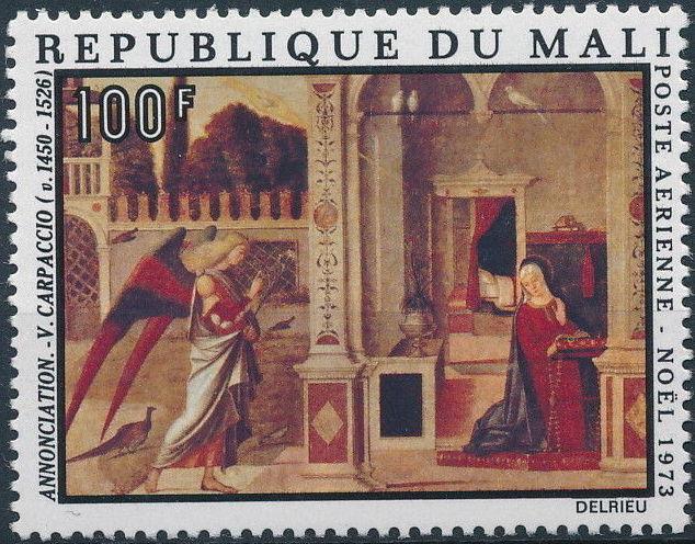 Mali 1973 Christmas