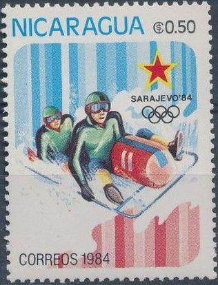 Nicaragua 1984 Winter Olympics - Sarajevo' 84 b.jpg