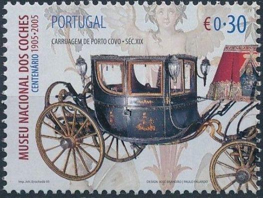 Portugal 2005 1st Centenary of National Coach Museum b.jpg