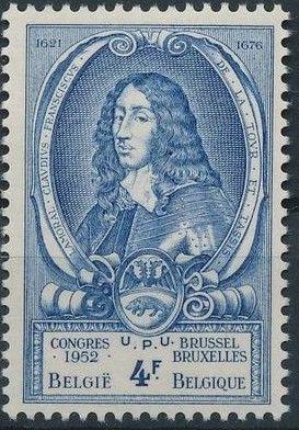 Belgium 1952 World Post Congress f.jpg