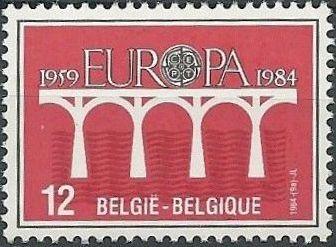 Belgium 1984 Europa