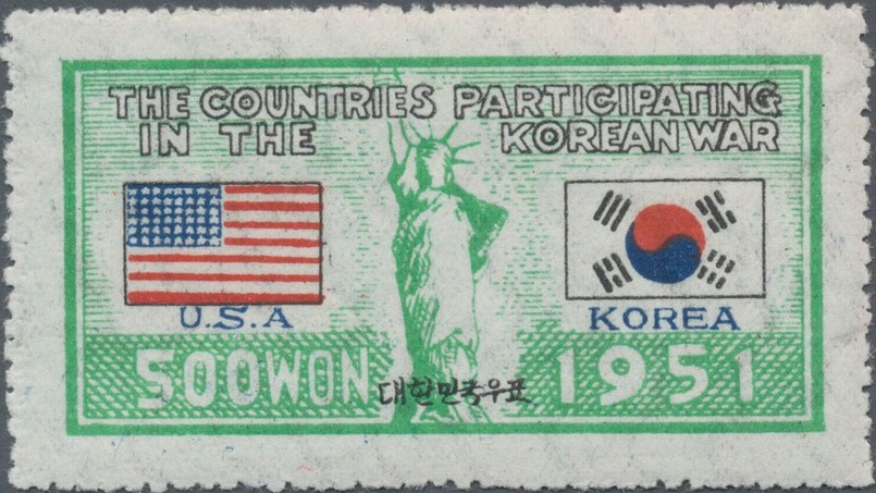 Korea (South) 1951 Countries Participating in the Korean War