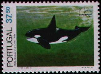 Portugal 1983 Brasiliana 83 - International Stamp Exhibition - Marine Mammals c.jpg