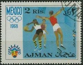 Ajman 1968 Olympic Games - Mexico f.jpg