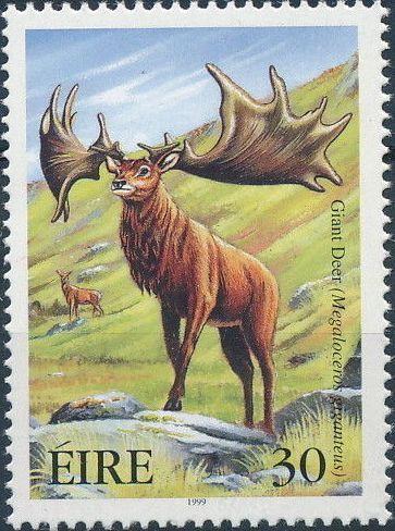 Ireland 1999 Extinct Irish Animals b.jpg
