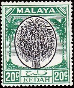 Malaya-Kedah 1950 Definitives i.jpg