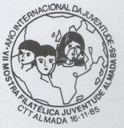 Portugal 1985 VII Youth Philatelic Exhibition of Almada PMa