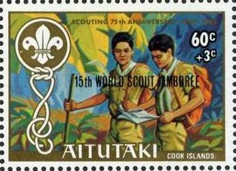 Aitutaki 1983 15th World Scout Jamboree (Semi-Postal Stamps) c.jpg