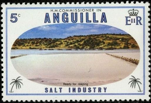Anguilla 1980 Salt Industry